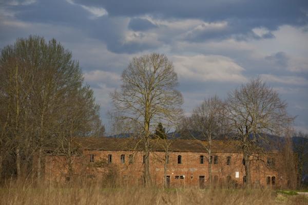 Padule di Fucecchio, vecchio edificio